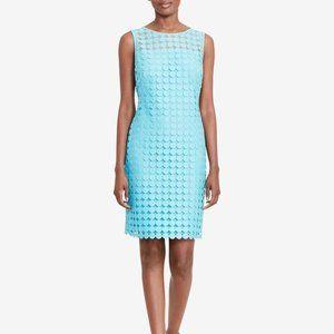 Lauren Ralph Lauren  Melia Dot-Lace Sheath Dress 6